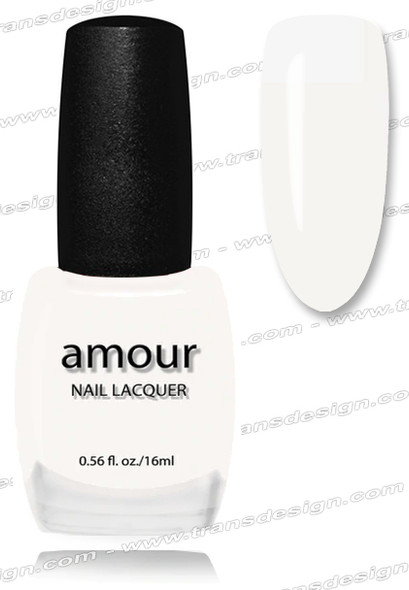AMOUR Nail Lacquer - White French Tip 0.56oz