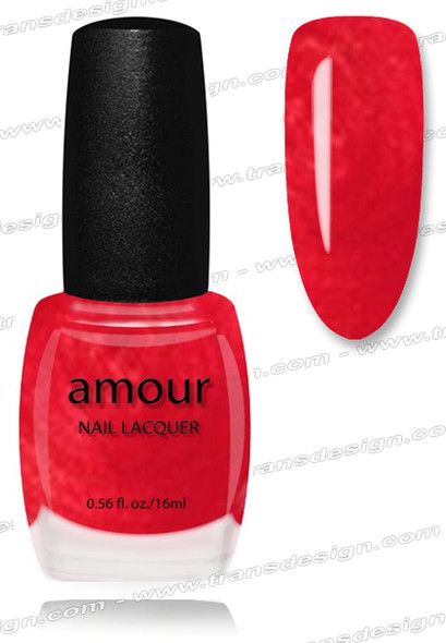 AMOUR Nail Lacquer - Candy Apple Red 0.56oz
