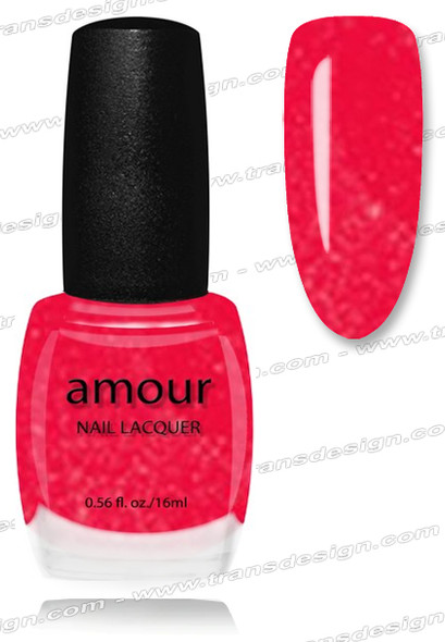 AMOUR Nail Lacquer - Icy Pink 0.56oz