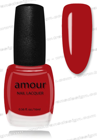 AMOUR Nail Lacquer - Ruby Red 0.56oz