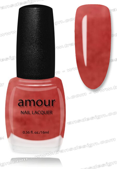 AMOUR Nail Lacquer - Pierre Rose 0.56oz