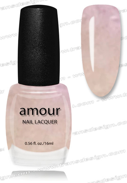 AMOUR Nail Lacquer - Snow Flake 0.56oz