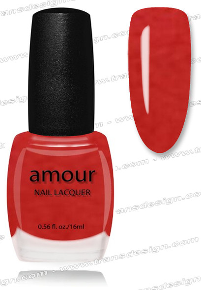 AMOUR Nail Lacquer - Pom Pom Pink 0.56oz