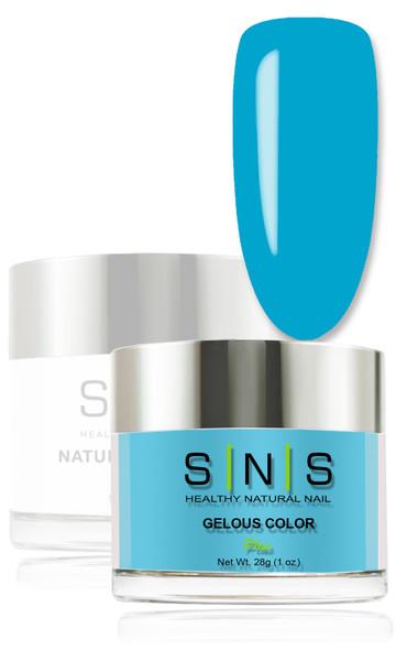 SNS Gelous Dip Powder - Blue Curacao LG04