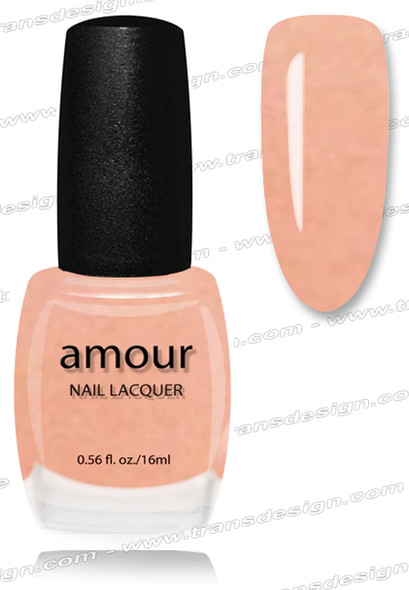 AMOUR Nail Lacquer - Shimmery Pink 0.56oz