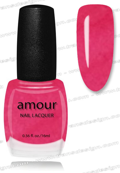 AMOUR Nail Lacquer - Paris Pink 0.56oz
