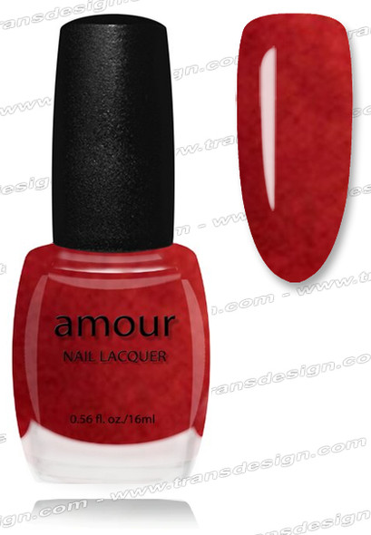 AMOUR Nail Lacquer - Kiss Me Orange 0.56oz