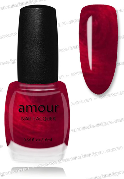 AMOUR Nail Lacquer - Unique Ruby 0.56oz