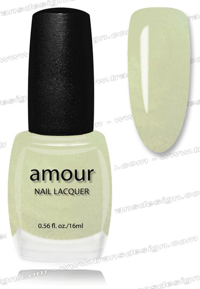 AMOUR Nail Lacquer - Brilliant Ocean Blue 0.56oz