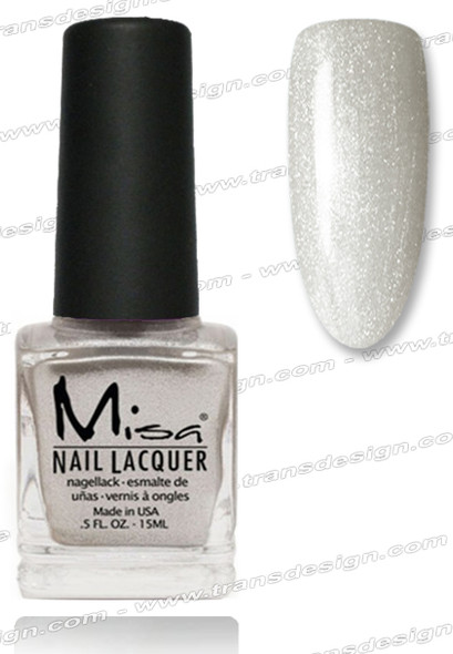 MISA Nail Lacquer - Glistering Treetop 0.5oz