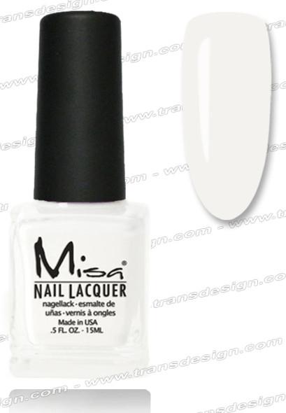 MISA Nail Lacquer - Kiss The Bride 0.5oz
