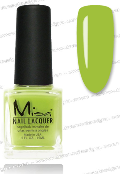 MISA Nail Lacquer - Good to Be Green 0.5oz