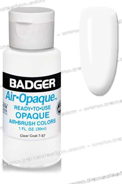 BADGER Airbrush Color - Clear Coat 1oz.