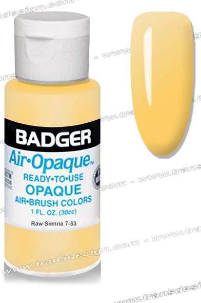 BADGER Airbrush Color - Raw Sienna 1oz.