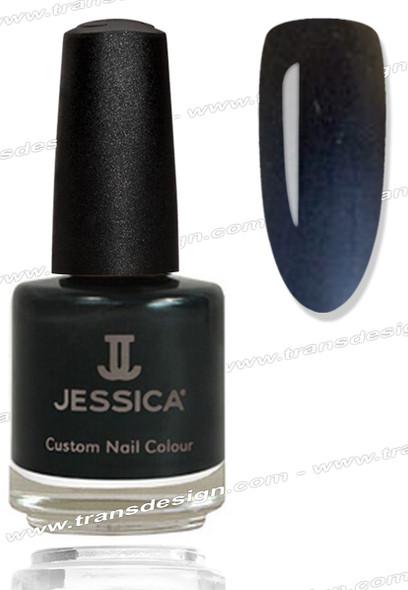 JESSICA Nail Polish - Black Matte