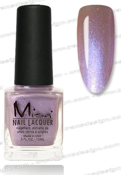 MISA Nail Lacquer - Denim & Lace 0.5oz