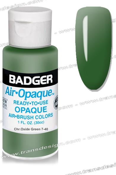 BADGER Airbrush Color - Chr.Oxide Green 1oz.