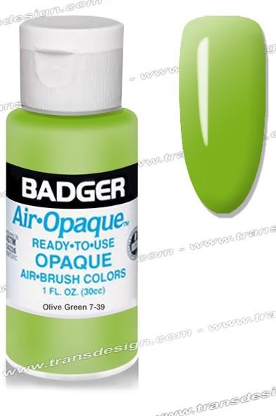 BADGER Airbrush Color - Olive Green 1oz.