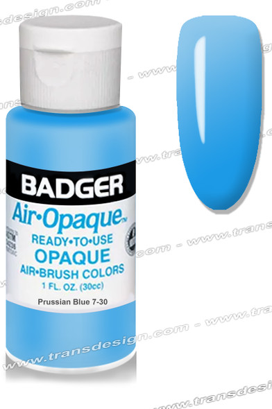 BADGER Airbrush Color - Prussian Blue 1oz.