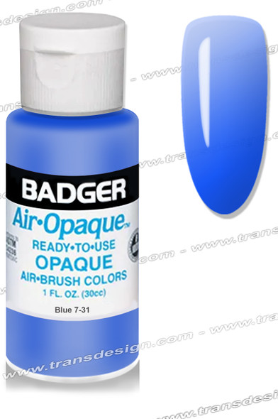 BADGER Airbrush Color - Blue 1oz.