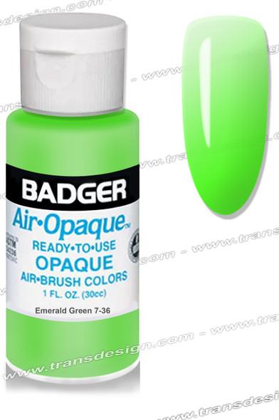 BADGER Airbrush Color - Emerald Green 1oz.