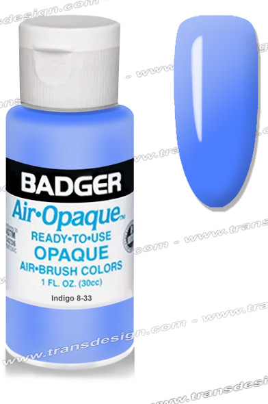 BADGER Airbrush Color - Indigo 4oz.