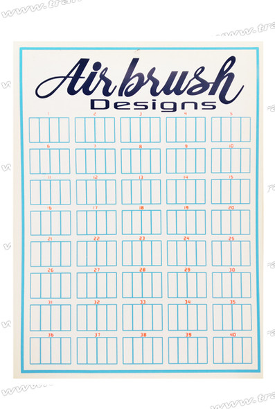 Airbrush Design Wall Mount Display 160/Display