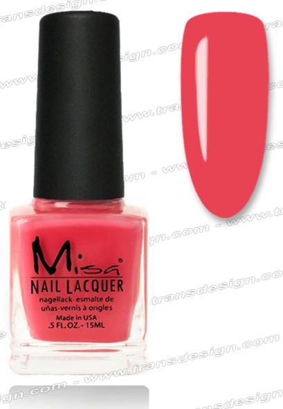 MISA Nail Lacquer - Pink Camellia 0.5oz