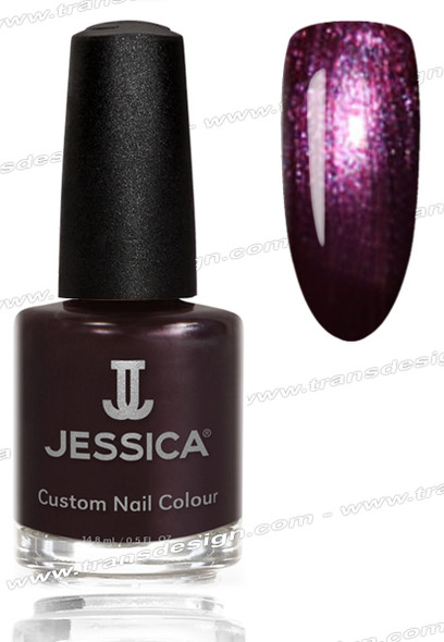 JESSICA Nail Polish - Dangerously Dark