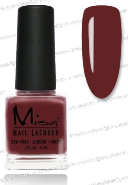 MISA Nail Lacquer - Mauve-Elous 0.5oz