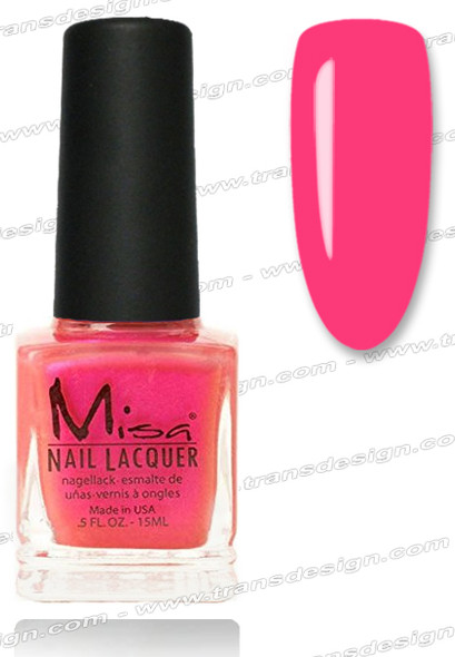 MISA Nail Lacquer - Looking For Trouble 0.5oz