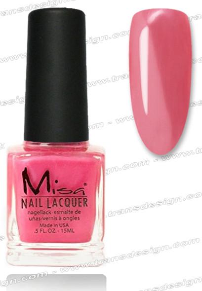 MISA Nail Lacquer - Lipstick Cowgirl 0.5oz