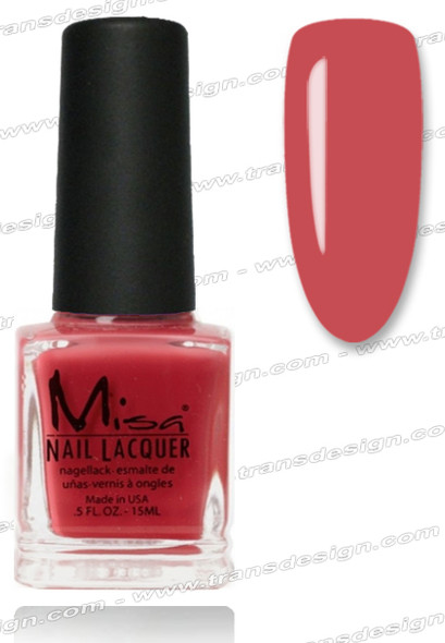 MISA Nail Lacquer - Kiss Me Now 0.5oz