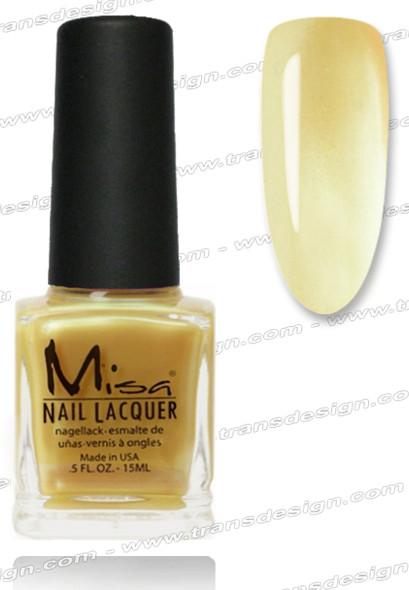 MISA Nail Lacquer - Golden Tan 0.5oz
