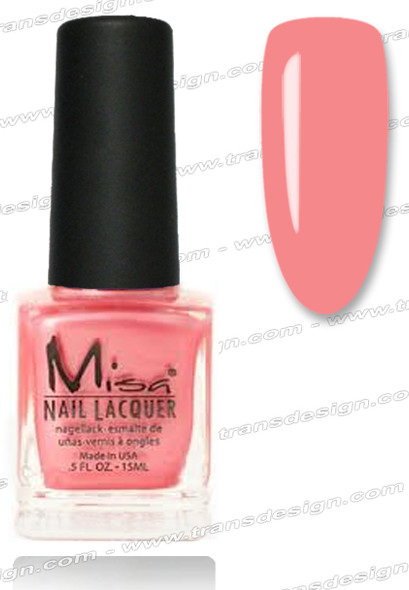 MISA Nail Lacquer - Funky Punky Pink 0.5oz