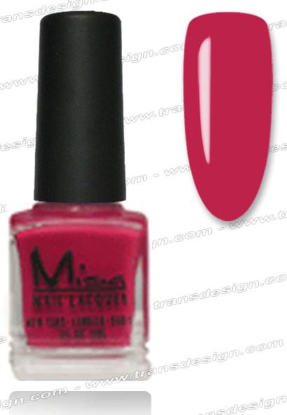 MISA Nail Lacquer - Cherry Glazed 0.5oz