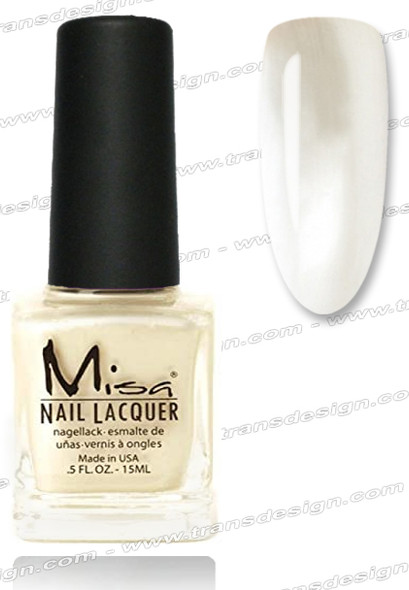 MISA Nail Lacquer - Achillia Pearl 0.5oz