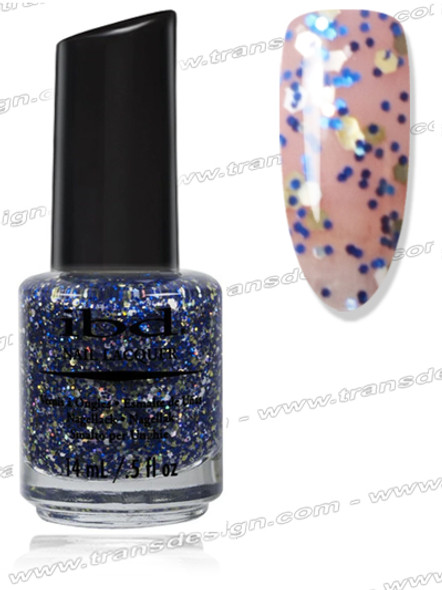 IBD Nail Lacquer - Saphire & Ice