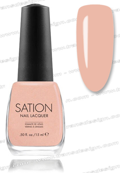 SATION Nail Lacquer - Chocolate Chip Resistant 0.5oz