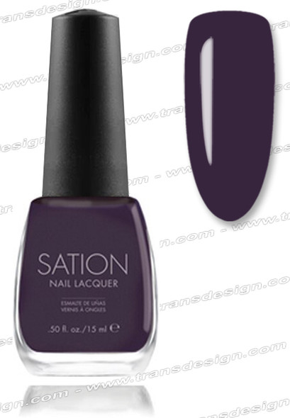 SATION Nail Lacquer - Guillotine Grape 0.5oz