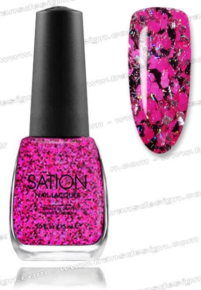 SATION Nail Lacquer - Miss & Makeup 0.5oz (G)