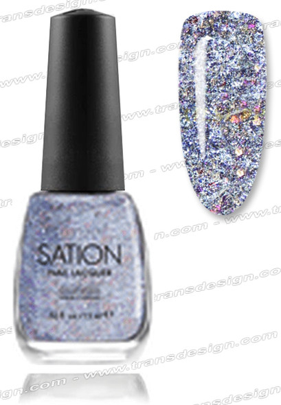 SATION Nail Lacquer - Me, Myself & Me 0.5oz (G)