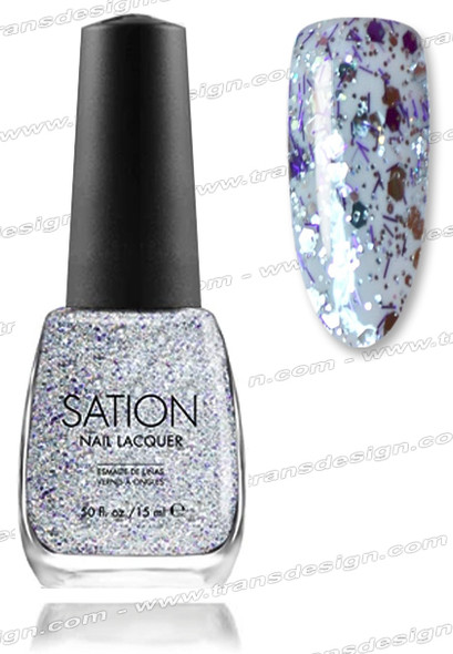 SATION Nail Lacquer - Fake It Till You Make It 0.5oz (G)