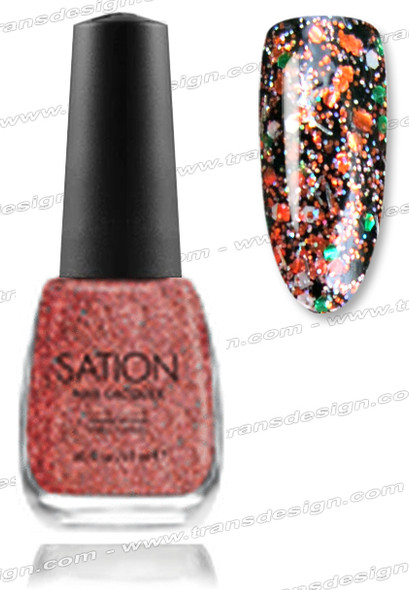 SATION Nail Lacquer -  I'm Not A Cougar 0.5oz (G)