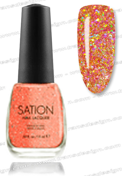 SATION Nail Lacquer - For Better or Never 0.5oz (G)