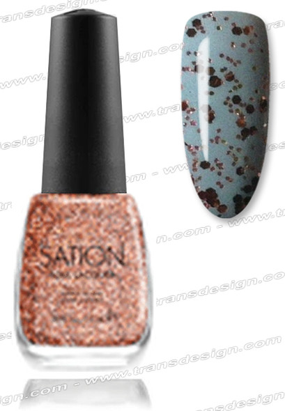 SATION Nail Lacquer - Calorie Countess 0.5oz (G)