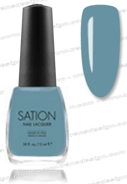 SATION Nail Lacquer - Blue Sky's the Limit 0.5oz (C)