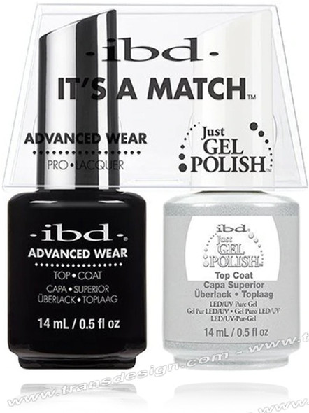 IBD It's a Match Duos -  Top Coat