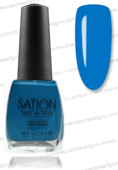 SATION Nail Lacquer - Board Girl Blue 0.5oz