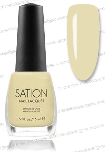 SATION Nail Lacquer - Lemon Pearl  0.5oz